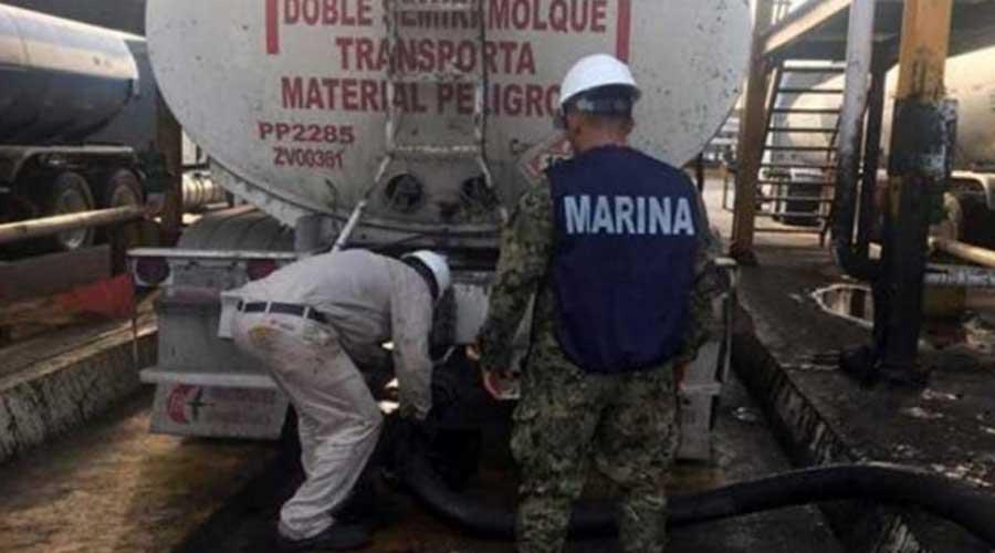 Detienen a presunto huachicolero dentro de instalaciones de Pemex | El Imparcial de Oaxaca