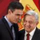 Presidente de España regala a López Obrador acta de nacimiento de su abuelo