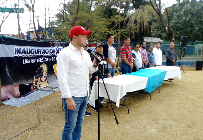 Playball a la Liga Universitaria   El Imparcial de Oaxaca