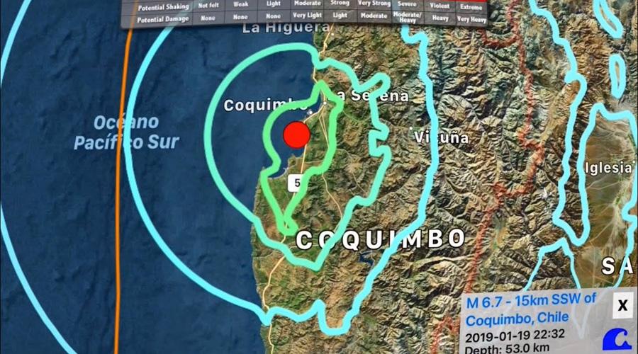 Tras sismo, dos personas mueren por infarto en Chile | El Imparcial de Oaxaca