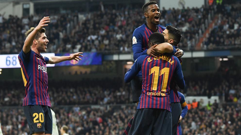 Golea Barça al Real Madrid y avanza a final de la Copa del Rey   El Imparcial de Oaxaca