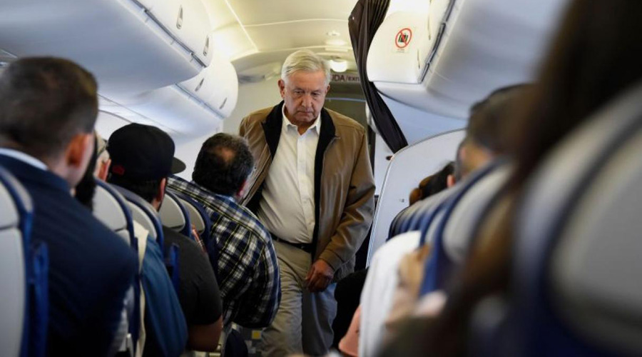 AMLO disminuye costos en vuelos; ha gastado en 15 lo que EPN sólo en uno   El Imparcial de Oaxaca