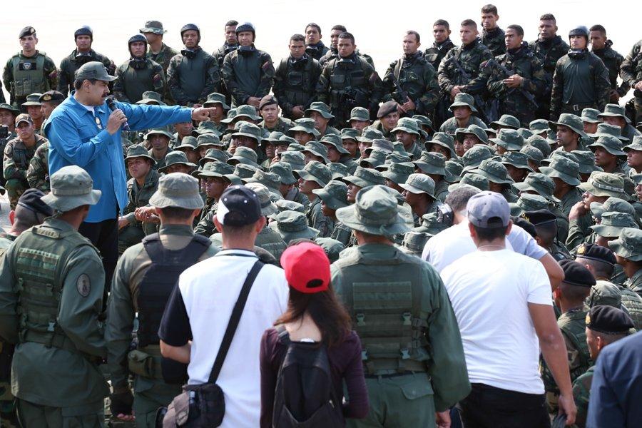 Llama Maduro a venezolanos a elegir entre ser patria o colonia | El Imparcial de Oaxaca