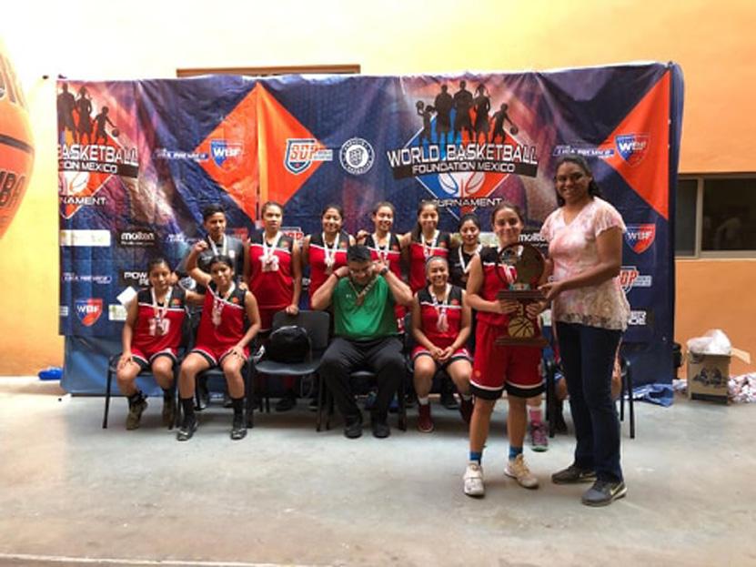 AIM vuelve victoriosa del Torneo World Basketball Fundation 2019 | El Imparcial de Oaxaca