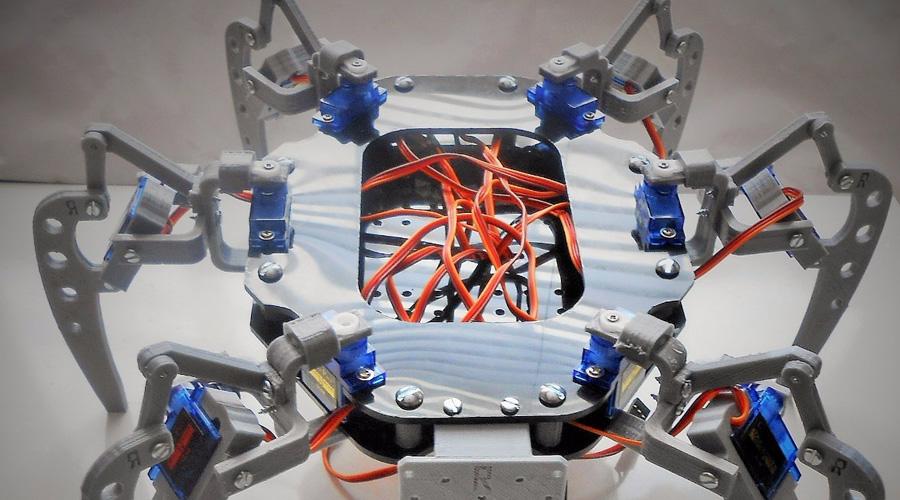 Crean robot arácnido para rescatar personas atrapadas en escombros   El Imparcial de Oaxaca