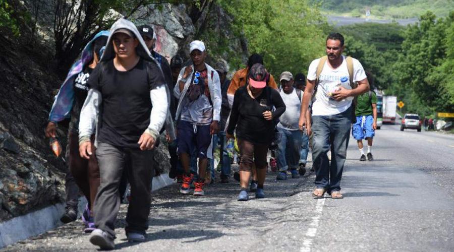 Regresan a México a familias migrantes de Centroamérica   El Imparcial de Oaxaca