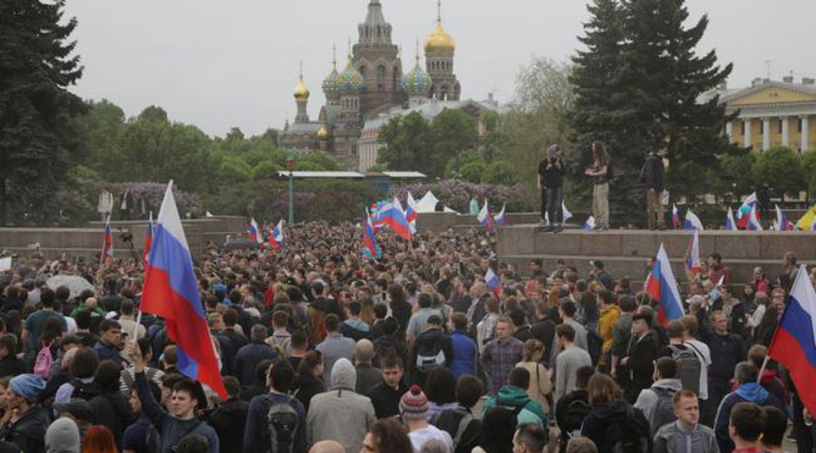 Provoca marchas en Rusia, posible censura al uso de internet | El Imparcial de Oaxaca