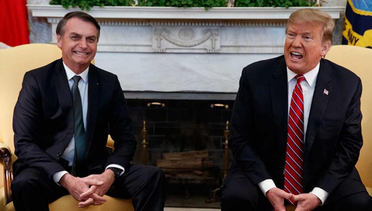 Bolsonaro y Trump se reúnen en la Casa Blanca | El Imparcial de Oaxaca