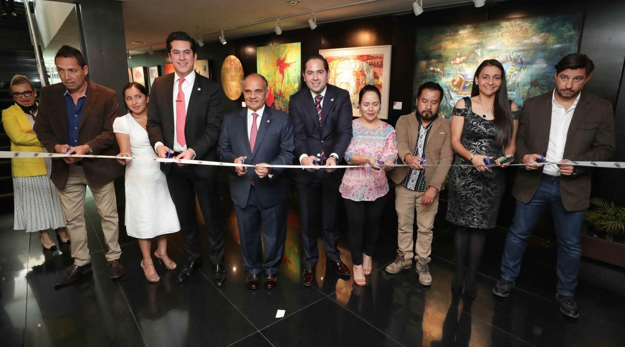 Exhiben pintores oaxaqueños en el Senado | El Imparcial de Oaxaca