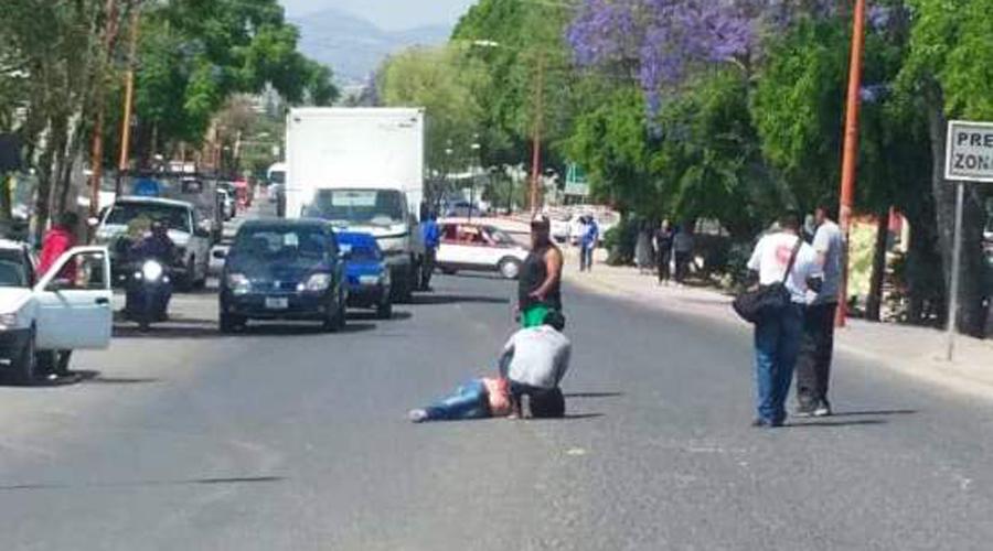 Motociclista atropella a mujer en calles de Huajuapan | El Imparcial de Oaxaca