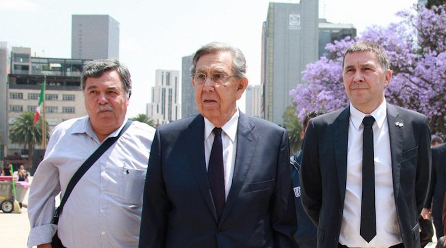 Encabeza Cuauhtémoc Cárdenas guardia de honor por Expropiación Petrolera   El Imparcial de Oaxaca