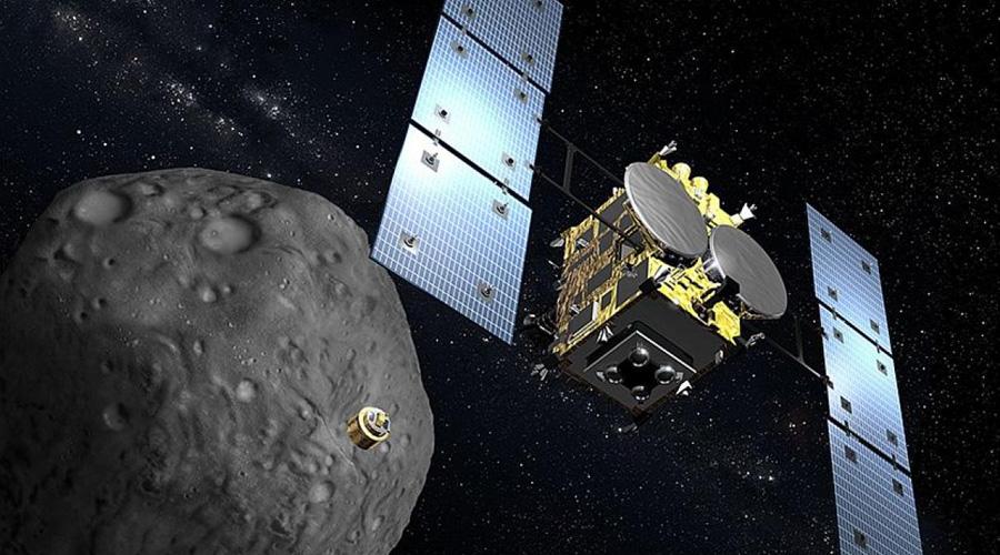 Misión espacial japonesa intenta bombardear asteroide   El Imparcial de Oaxaca
