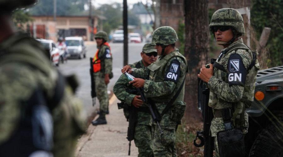 Operarán en la Cuenca 300 elementos de la Guardia Nacional | El Imparcial de Oaxaca