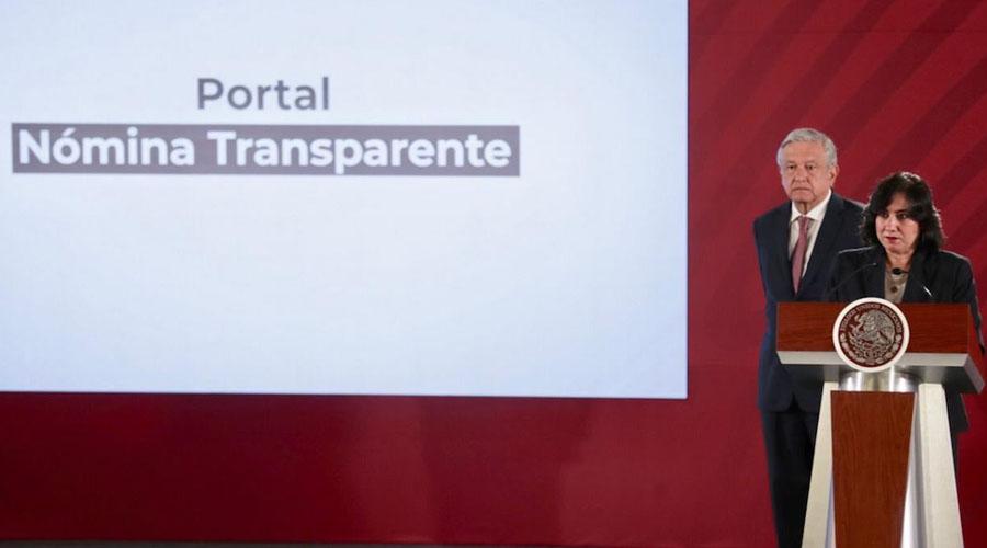 Transparentan nómina del Gobierno Federal   El Imparcial de Oaxaca