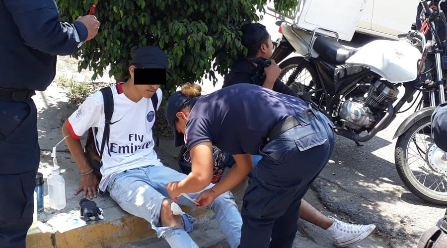 Lo atropella motociclista en la agencia de Ixcotel | El Imparcial de Oaxaca
