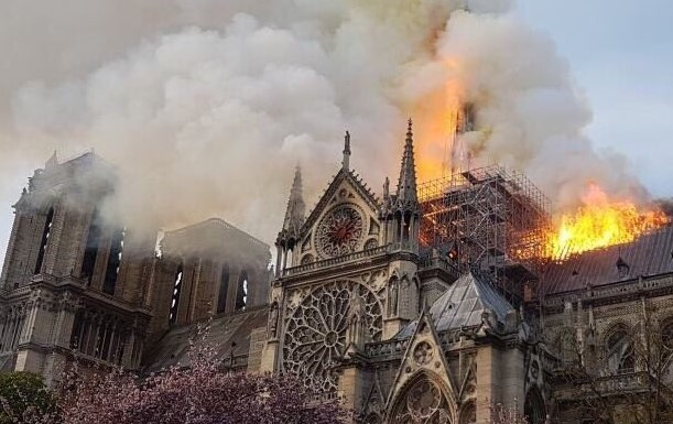 Las impactantes imágenes del incendio de la Catedral de Notre Dame | El Imparcial de Oaxaca
