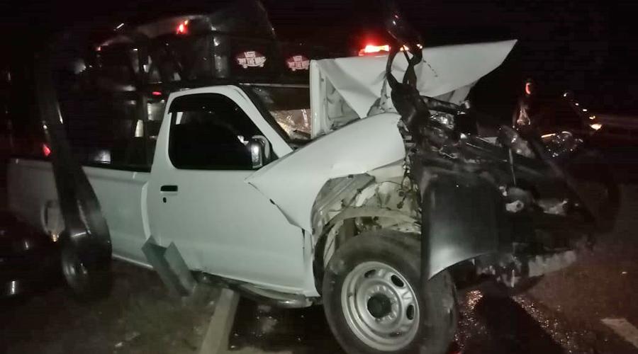 Se registra fuerte choque en El Vergel Ejutla | El Imparcial de Oaxaca