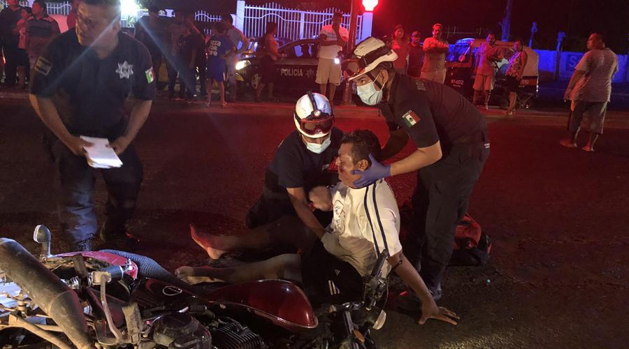 Derrapa un motociclista en Juchitán | El Imparcial de Oaxaca