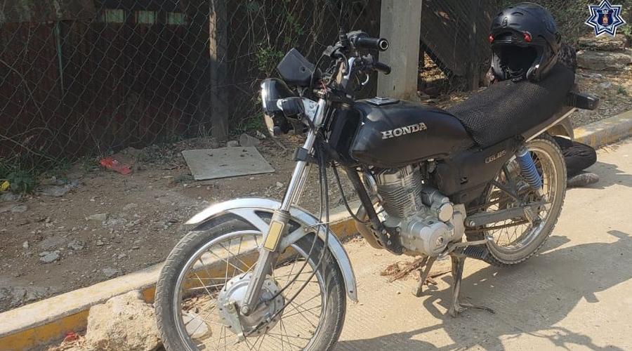 Recuperan en Xoxo una moto con reporte de robo | El Imparcial de Oaxaca
