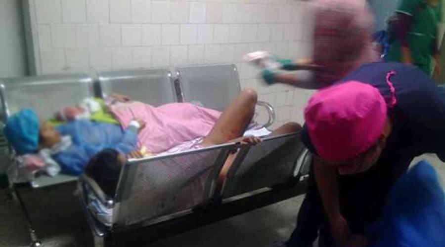Siete detenidos por difundir foto de mujer dando a luz en sala de espera | El Imparcial de Oaxaca