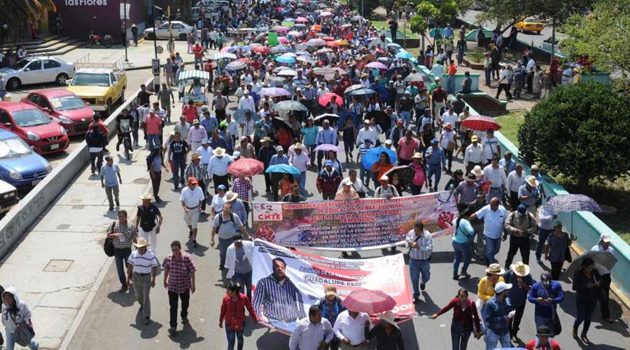 Desconoce S-22 nueva reforma educativa de AMLO | El Imparcial de Oaxaca