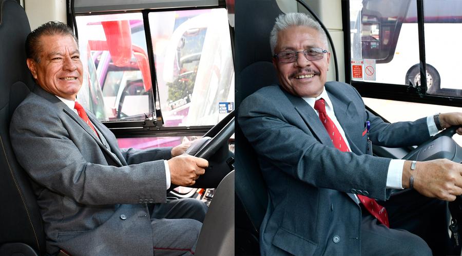 Despues de más de 25 años laborando, se jubilan dos conductores de ADO | El Imparcial de Oaxaca