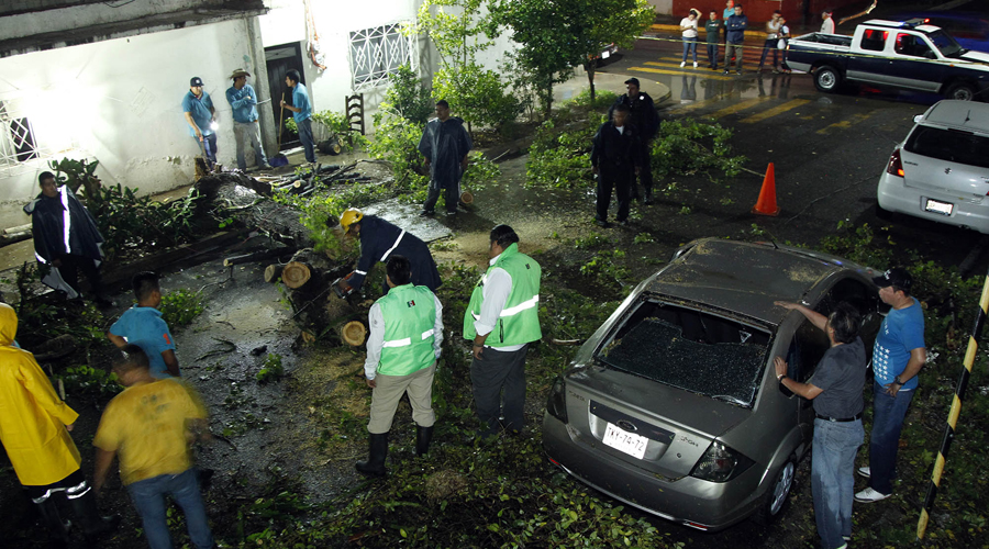 Azota tormenta en los Valles Centrales de Oaxaca   El Imparcial de Oaxaca