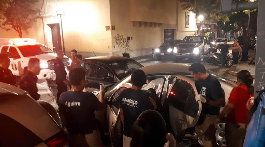 Aparatosa embestida en Centro Histórico de Oaxaca | El Imparcial de Oaxaca
