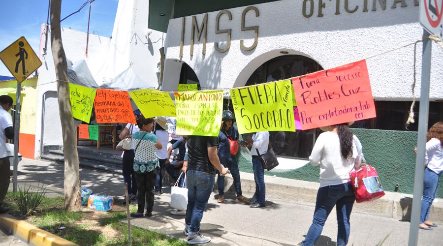 Nuevo sindicato en Oaxaca denuncia corrupción en el IMSS   El Imparcial de Oaxaca