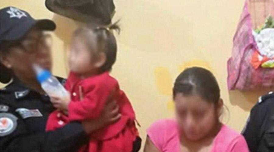 """Video: Detienen a la """"hiena de Guerrero"""", mujer que propinó golpiza a su hija de 3 años   El Imparcial de Oaxaca"""