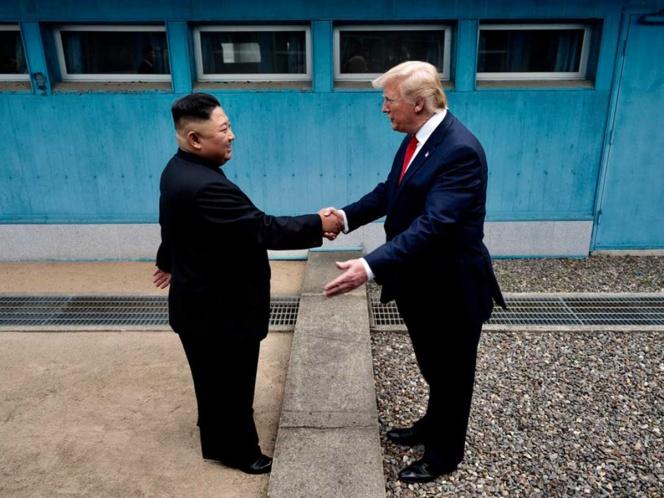 Se reúnen Trump y Kim Jon Un por primera vez en Corea del Norte   El Imparcial de Oaxaca