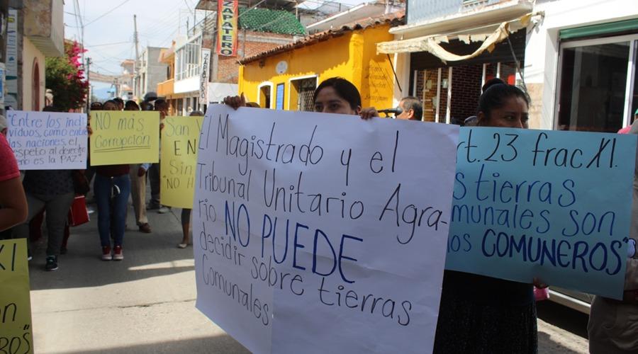 """En San Agustín Atenango, les quieren """"arrebatar""""  más de mil hectáreas   El Imparcial de Oaxaca"""