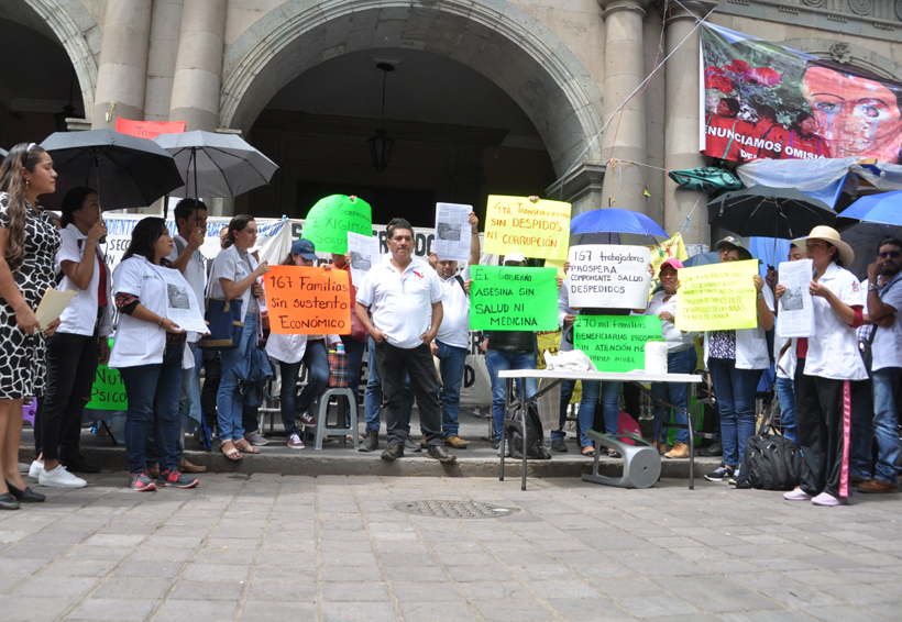 Mantienen protesta trabajadores de SSO   El Imparcial de Oaxaca