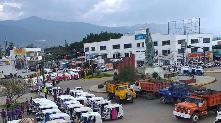 Detención del dirigente de CATEM genera bloqueos en Oaxaca | El Imparcial de Oaxaca