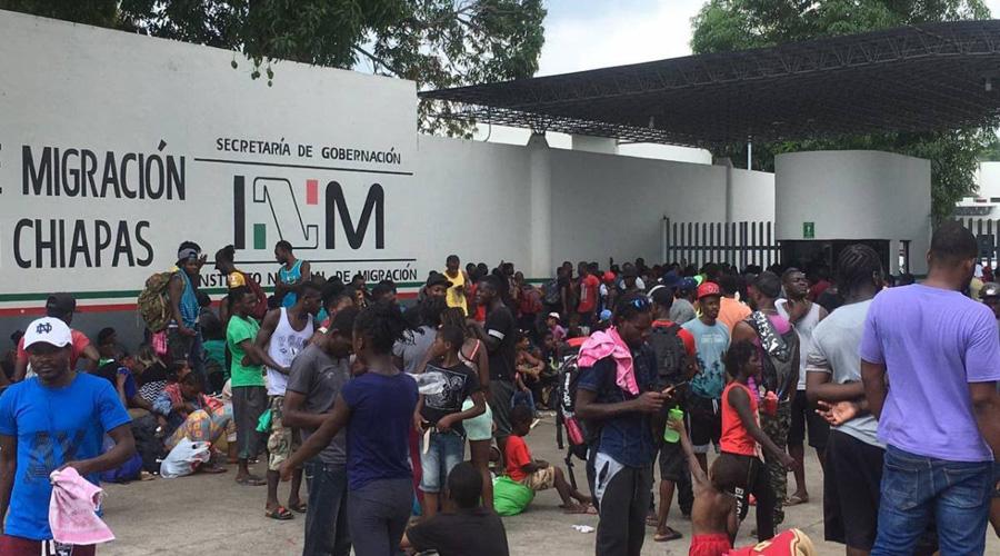 Ante posible violencia de migrantes, México tendría derecho de reforzar seguridad en frontera   El Imparcial de Oaxaca