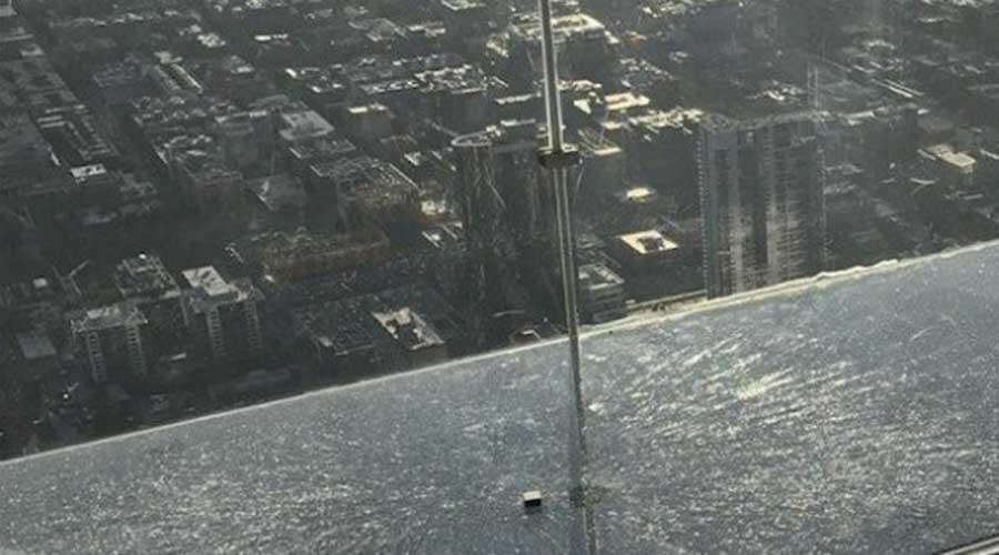 Se agrieta piso del mirador Skydeck en Chicago | El Imparcial de Oaxaca