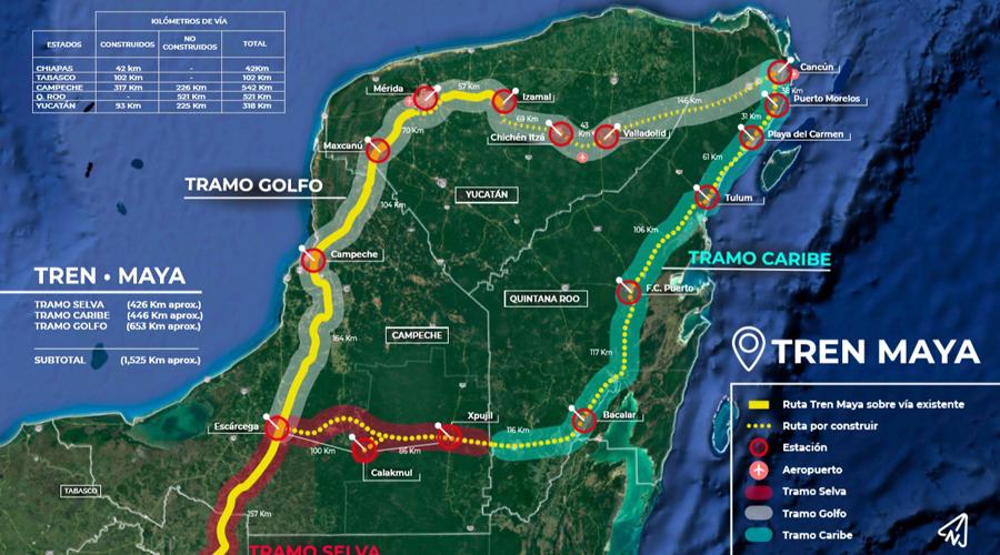 Estudio de polos de desarrollo para el Tren Maya cuesta más de 62 mdp | El Imparcial de Oaxaca