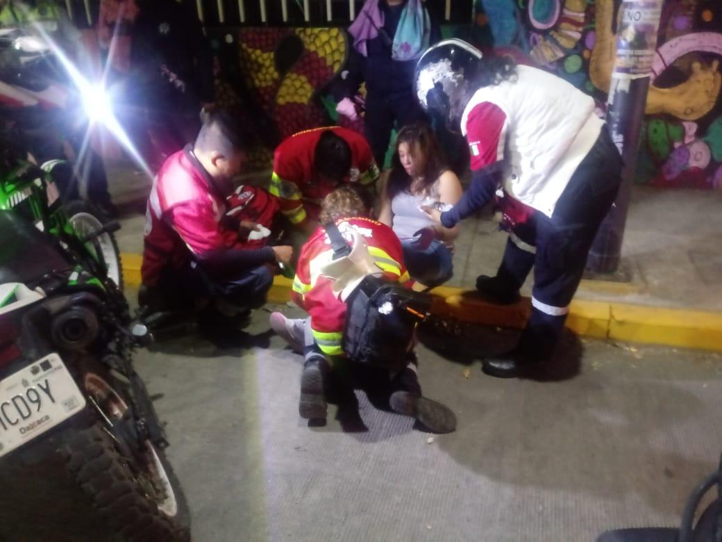 Motociclistas derrapan en la colonia El Bajío en Ixcotel | El Imparcial de Oaxaca