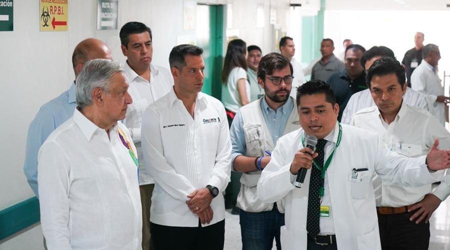 Más medicinas, especialistas, mejores salarios… y concluir 54 hospitales, los compromisos | El Imparcial de Oaxaca