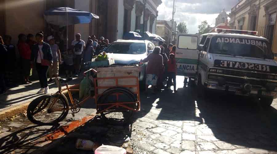 Atropellan a joven elotero en calle del centro histórico | El Imparcial de Oaxaca