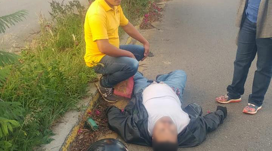 Impactan amotociclista en San Raymundo Jalpan | El Imparcial de Oaxaca
