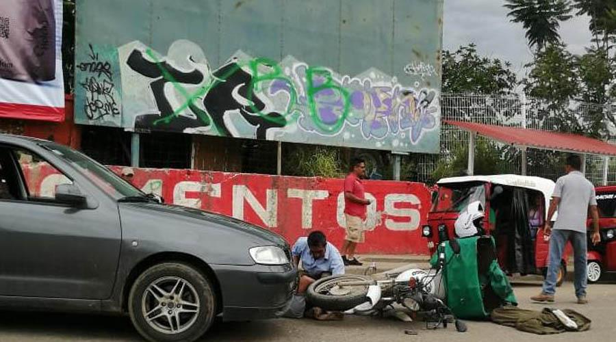 Imprudente conductor atropella a tortillero en colonia Emiliano Zapata | El Imparcial de Oaxaca