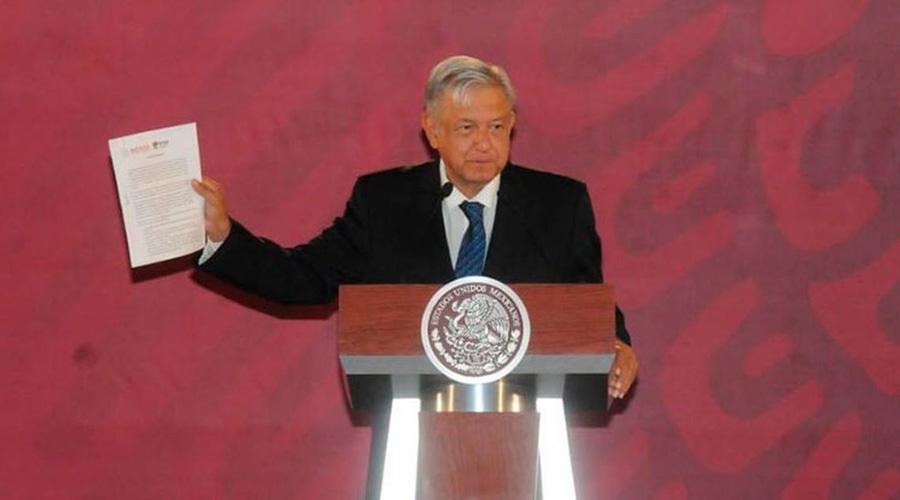 Firmará AMLO ante notario, compromiso de no reelección   El Imparcial de Oaxaca