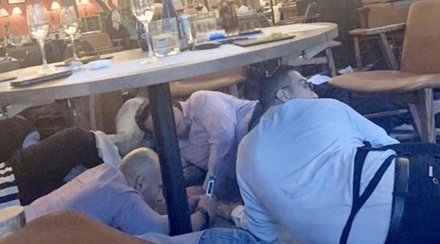Video: Así fue el tiroteo en Plaza Artz donde murieron dos israelíes | El Imparcial de Oaxaca