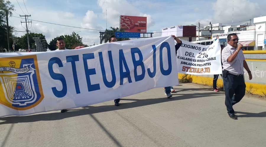 Amaga STEUABJO con más protestas en Oaxaca | El Imparcial de Oaxaca