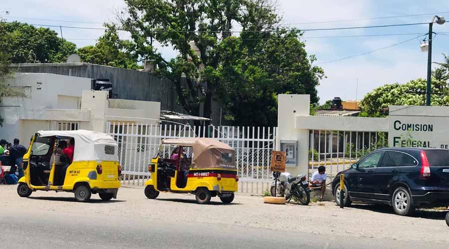Habitantes del Istmo exigen mejor servicio a CFE | El Imparcial de Oaxaca