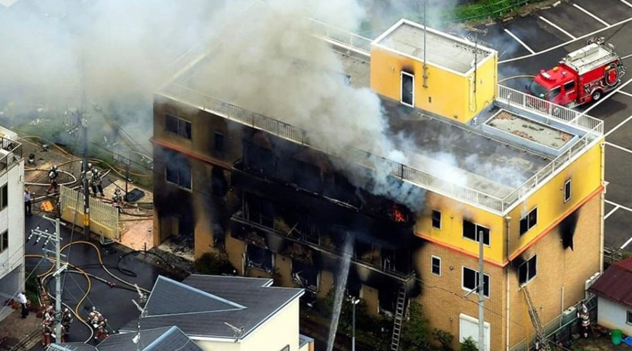 Incendio intencional en estudio de anime deja más de 30 muertos en Japón   El Imparcial de Oaxaca
