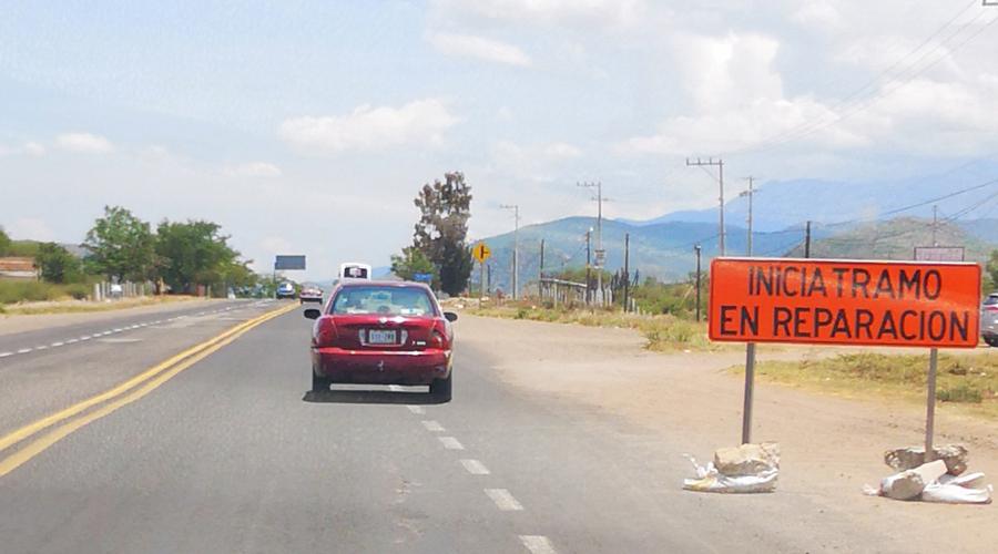 Continúan trabajos de rehabilitación en la 190 | El Imparcial de Oaxaca