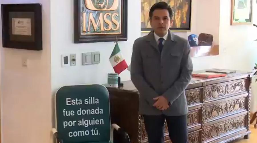 Video: Zoé Robledo pide donaciones para el IMSS y lo tunden en redes sociales | El Imparcial de Oaxaca