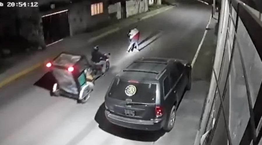 Video: Mototaxista salva a joven de ser secuestrada   El Imparcial de Oaxaca